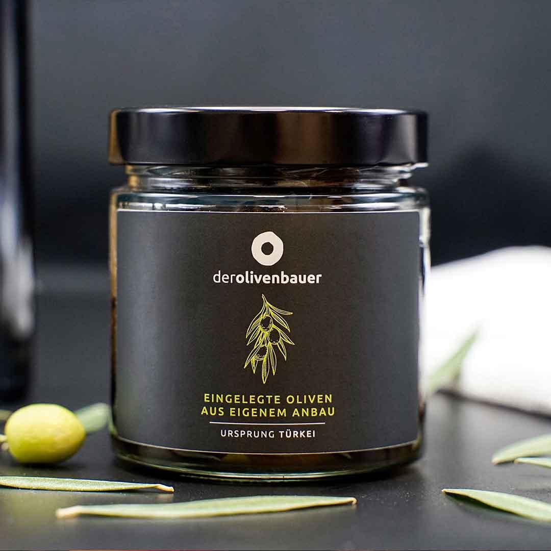 derolivenbauer Olivenglasetikett